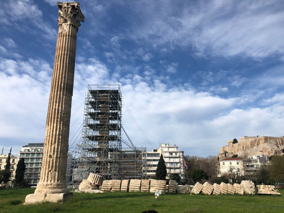 Temple of Olympian Zeus, Athens (photo: MOCAS)