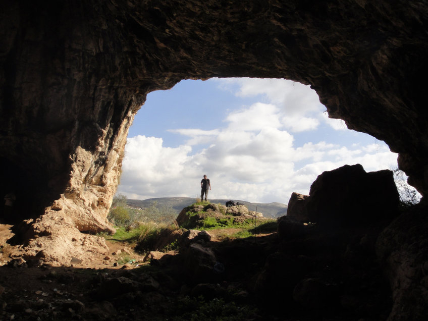The view from Shukbah Cave. © Amos Frumkin