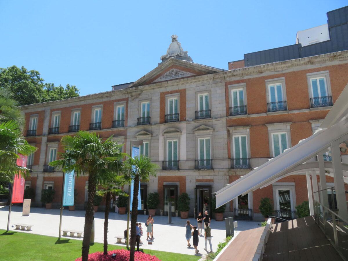 The Museo Nacional Thyssen-Bornemisza in Madrid (photo: Wikipedia).