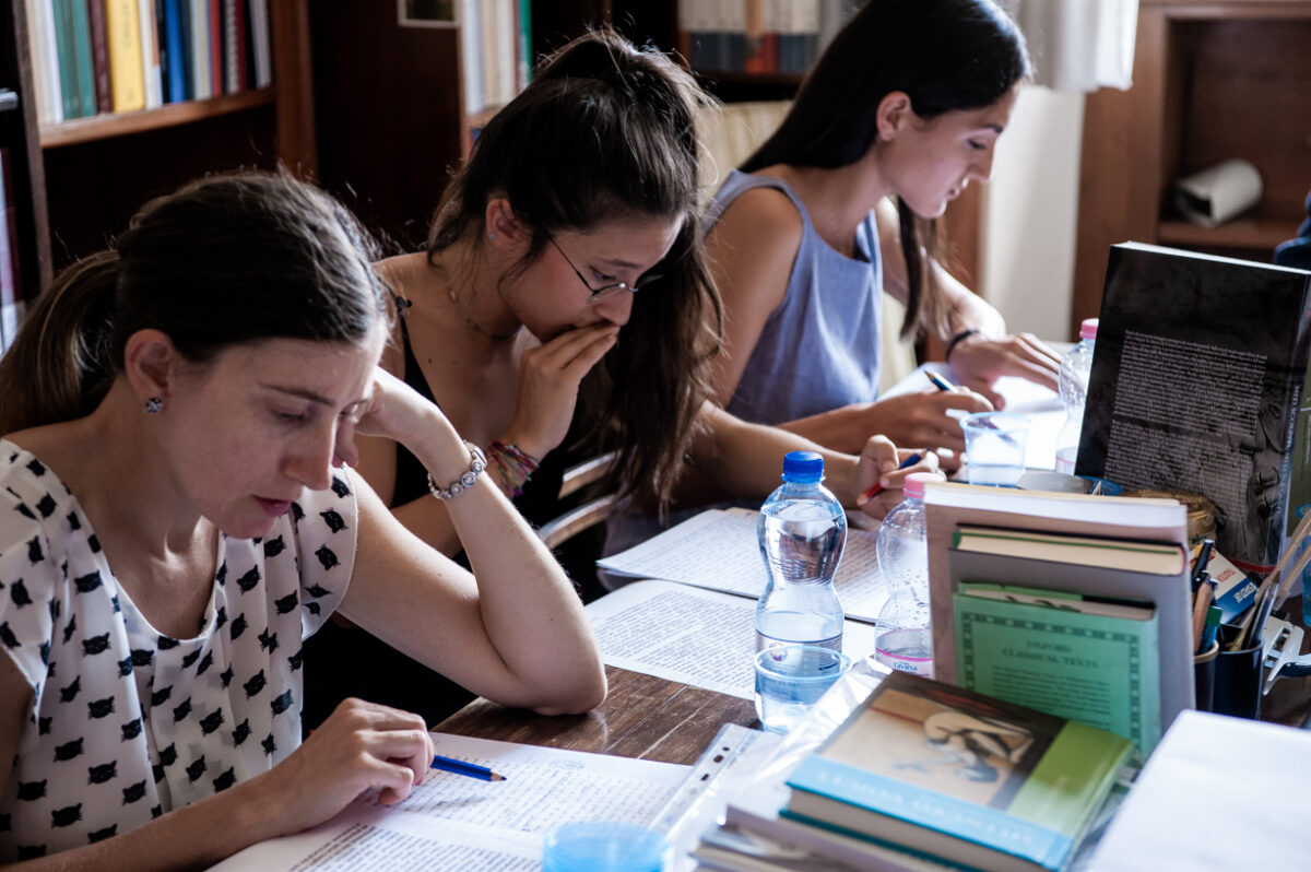 One needs to register with the online system in order to apply. Photo credit: ©Scuola Normale Superiore/ foto Laura Lezza