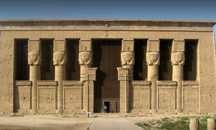 The Dendera Temple in Qena. Credit: Egypt. Ministry of Antiquities
