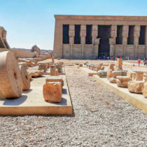Dendera Temple restoration and developing project continues