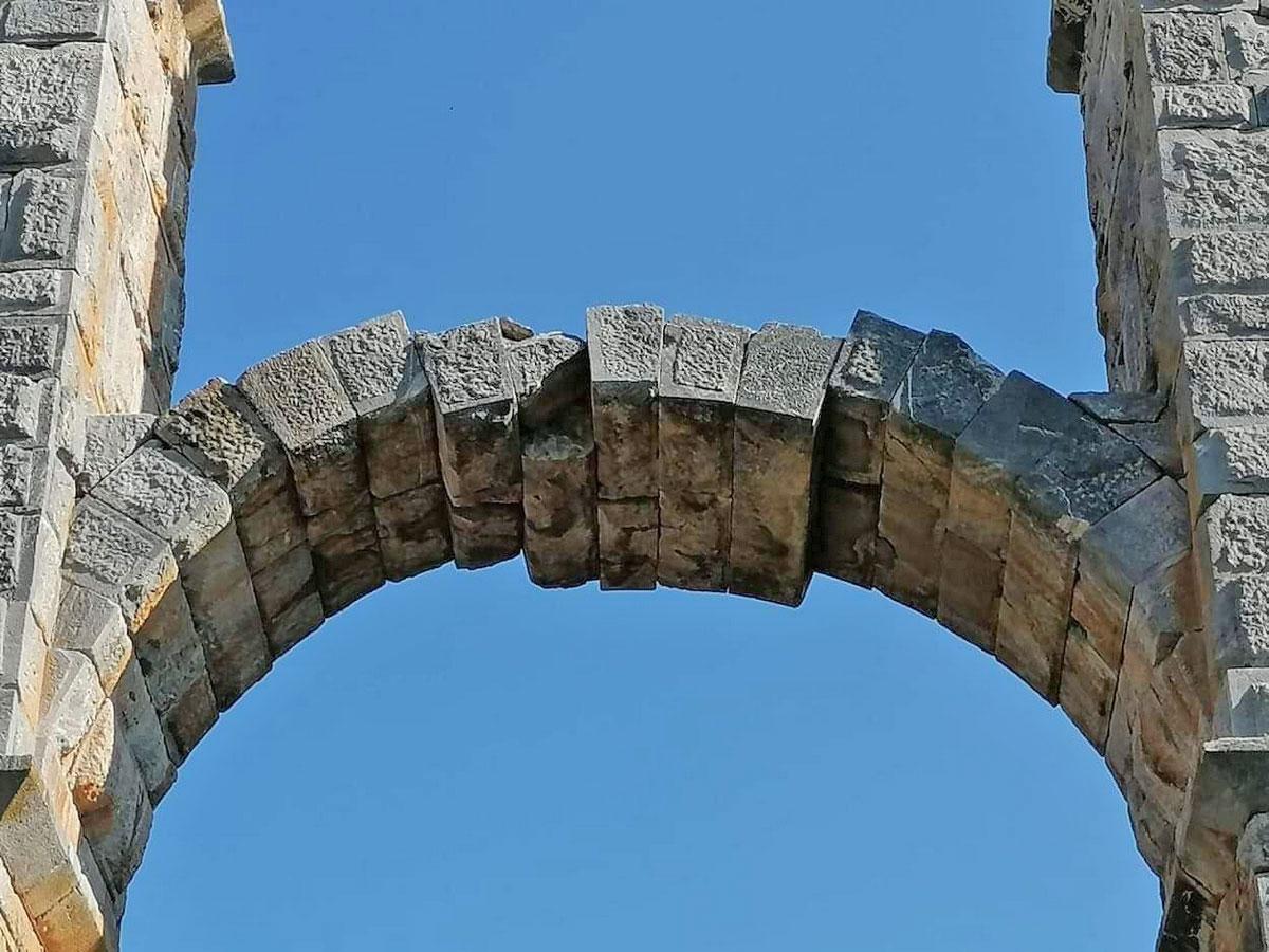 The Roman Aqueduct at Moria (photo: MOCAS)