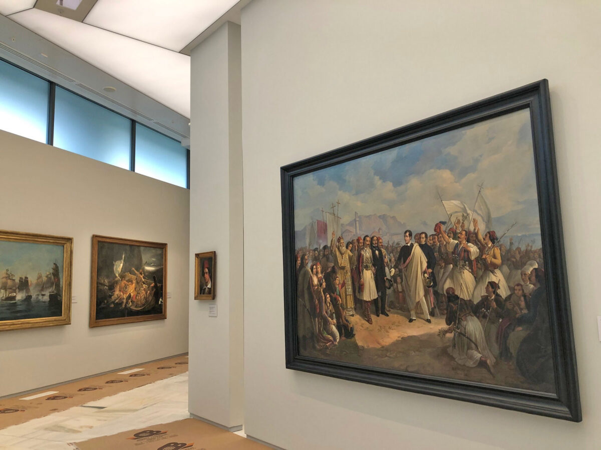 At the refurbished National Gallery (photo: MOCAS).