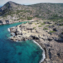 Underwater research of ancient Olous