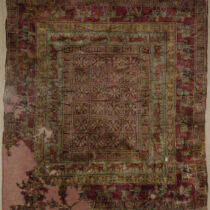 Pazyryk carpet: Fermented wool is the answer