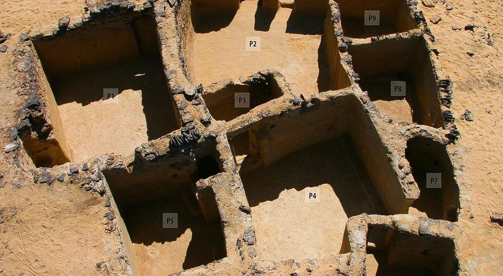 Ancient monastery remains found in Bahariya, Egypt