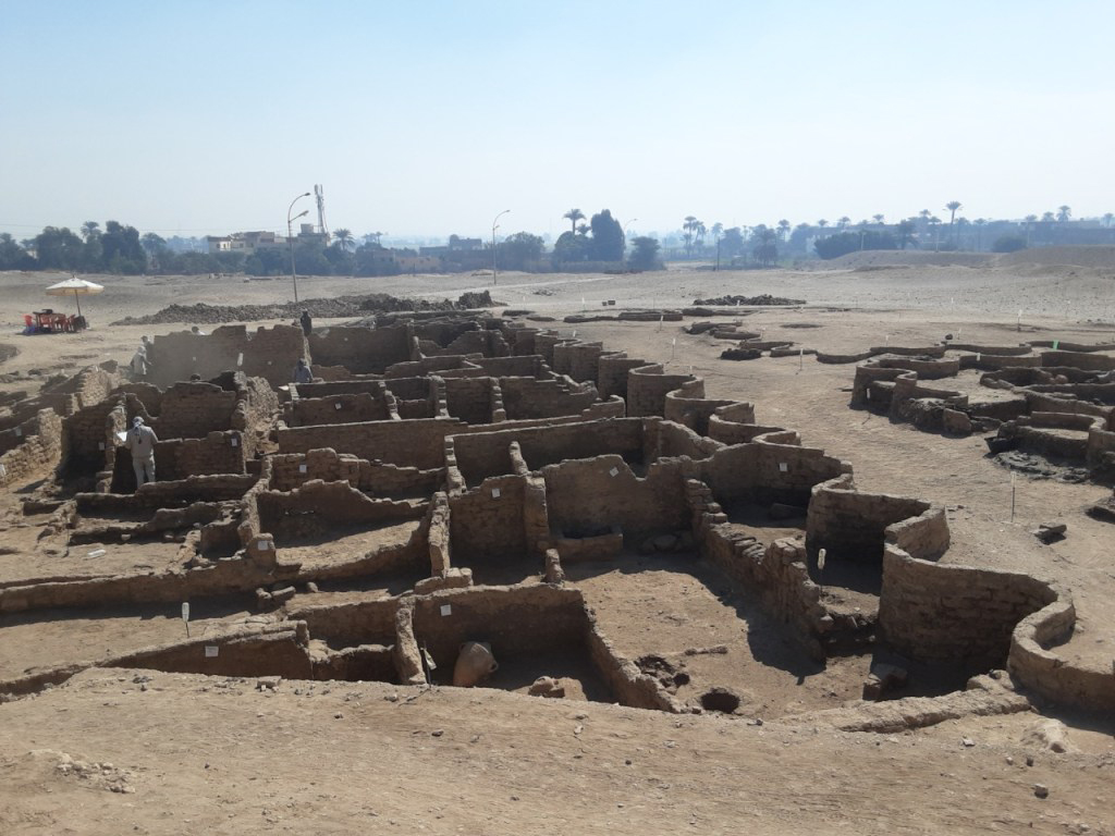 The city remains. Courtesy: Zahi Hawass Center For Egyptology.