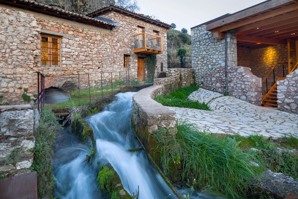 The Open-Air Water Power Museum in Dimitsana (Peloponnese). Photo credit: PIOP