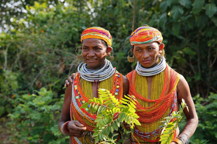 Indigenous villagers in the heavily forested state of Odisha, India. Credit : Ganta Srinivas