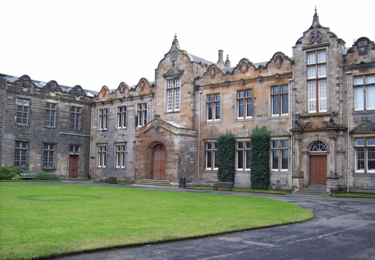The University of St Andrews (from the Universitys website).