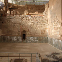 Production of marble slabs in the Roman imperial period