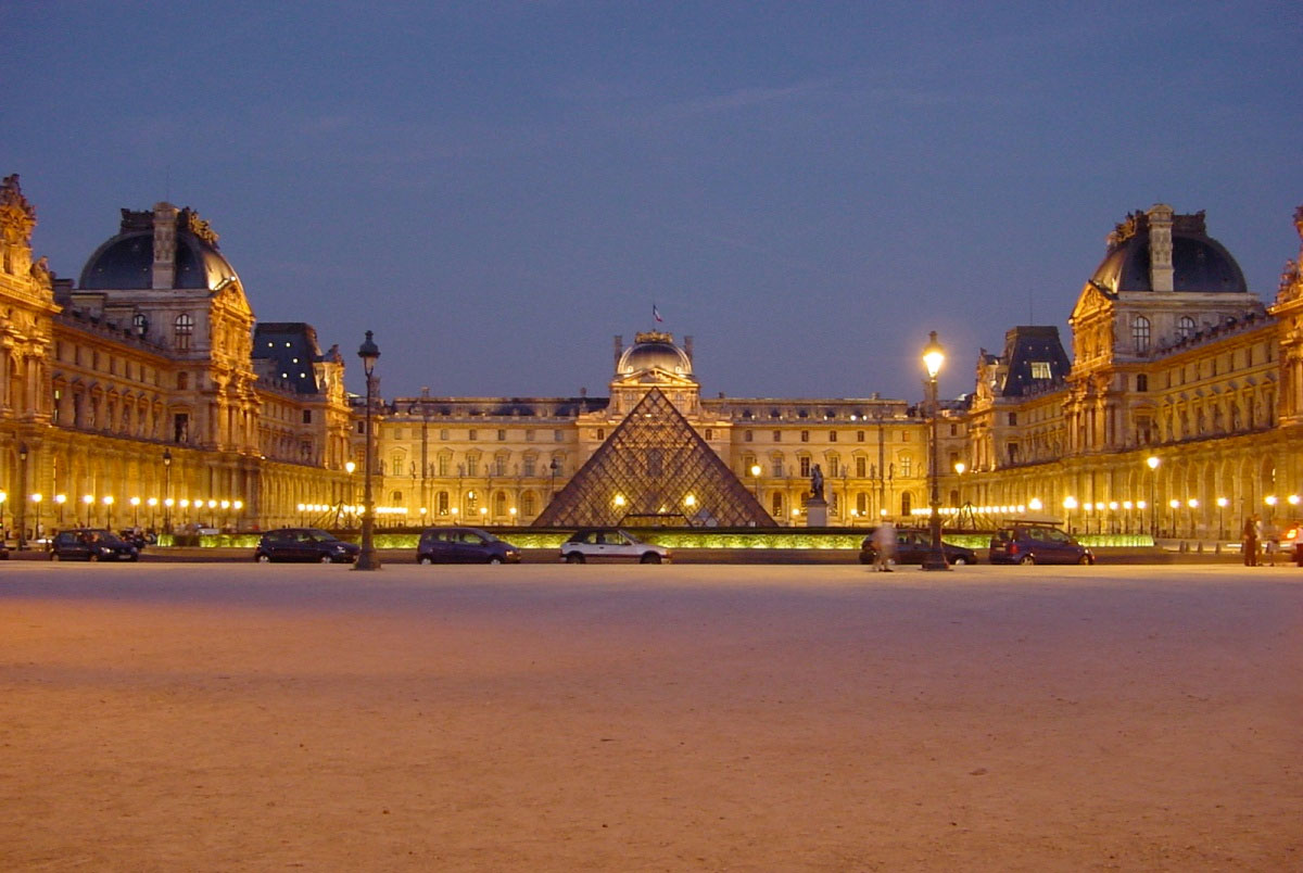 The Louvre Museum (photo: Wikipedia)
