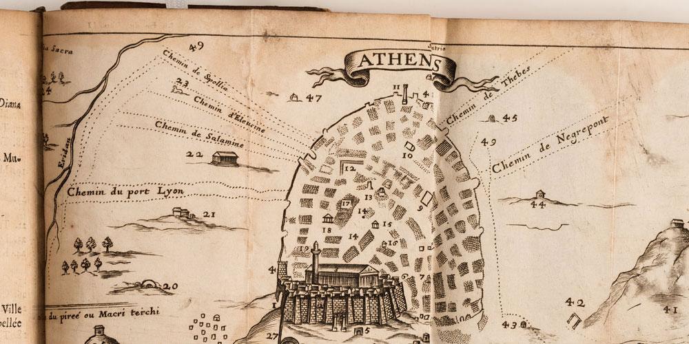 Design of Athens, via the HCMH Haifa website.
