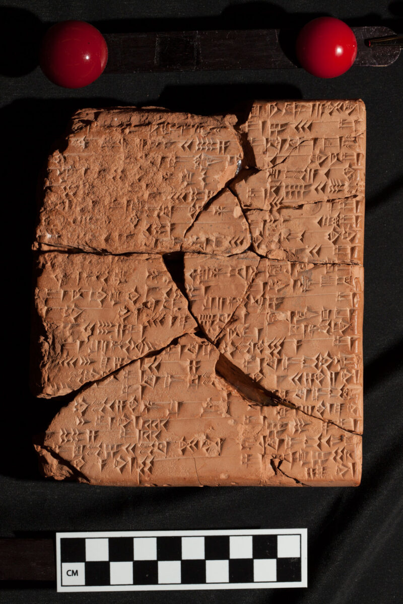 Buchanan's provenance research includes digitizing ancient clay tablets for public use. Credit : University of Missouri