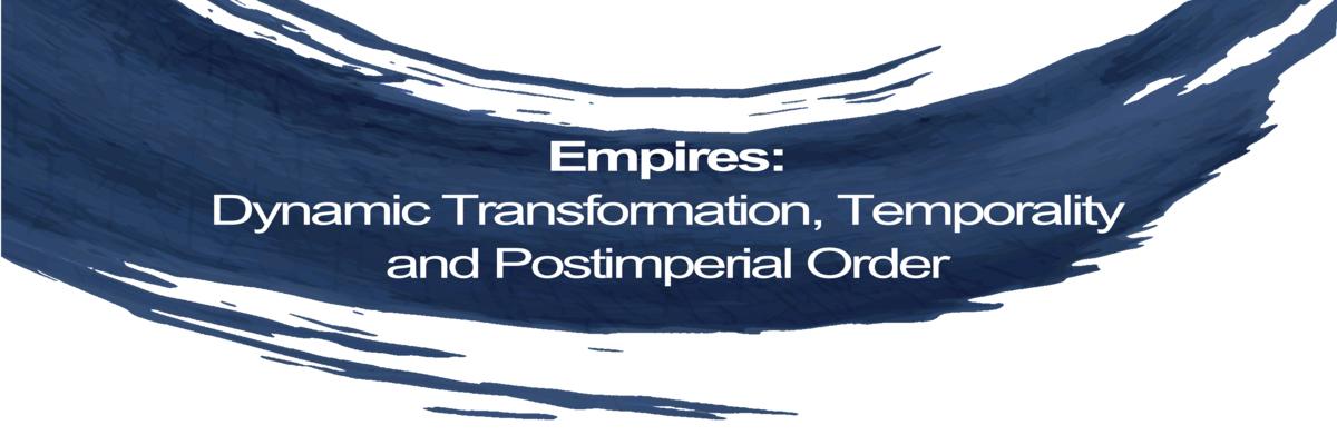 Logo of the DFG Graduate School 2571 Empires.