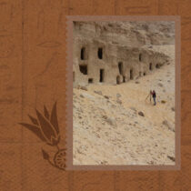 A large number of rock-cut tombs excavated in Al Hamdiya necropolis, Sohag, Egypt