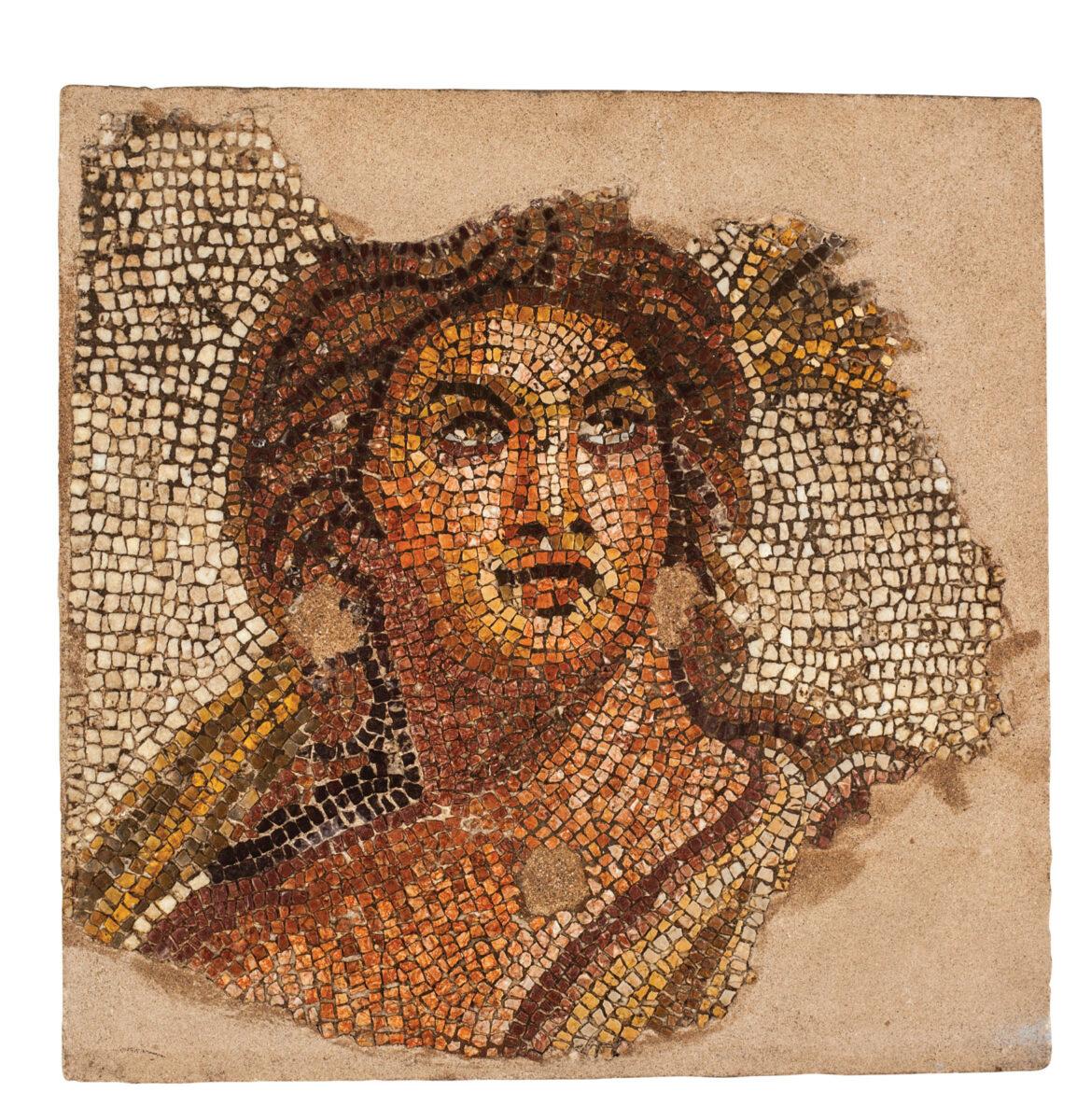 Mosaic floor depicting Theros/Summer (Μuseum Exhibit 6727), Archaeological Museum of Thessaloniki ©AMT, MOCAS-ODAP.