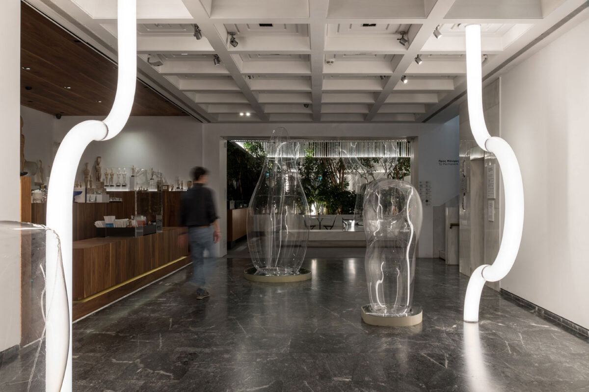"""Archipelago"": Installation at the Cycladic Café"