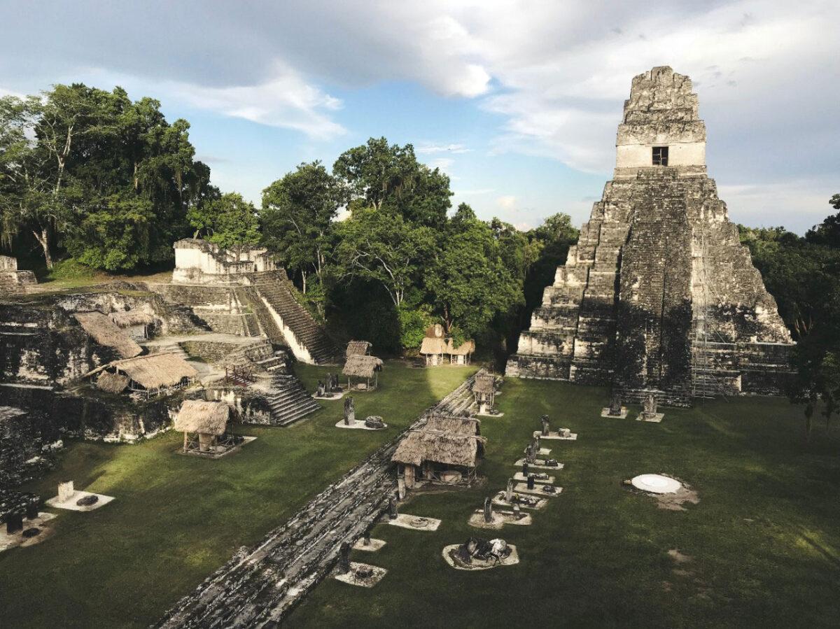 The ancient Maya city of Tikal in Guatemala. Photo/Jimmy Baum/Wikimedia Commons