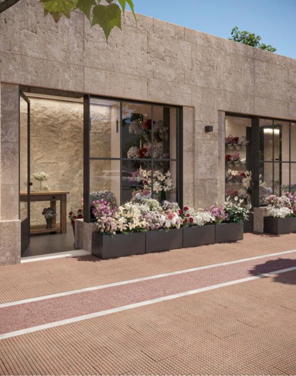 Revival of historic Syntagma flower shops