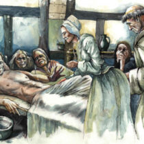 Medieval plague victims were buried individually with 'considerable care'