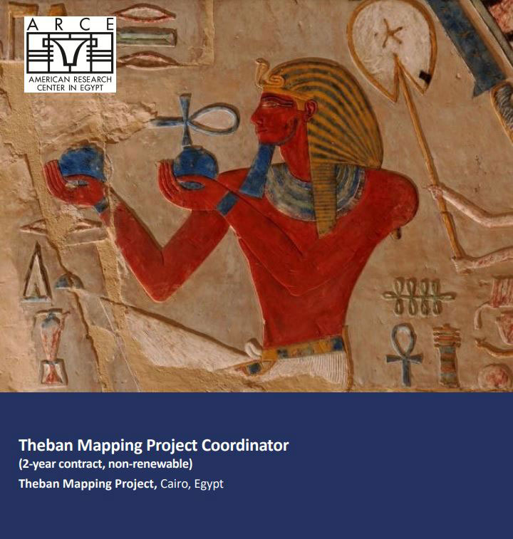 Theban Mapping Project Coordinator job position