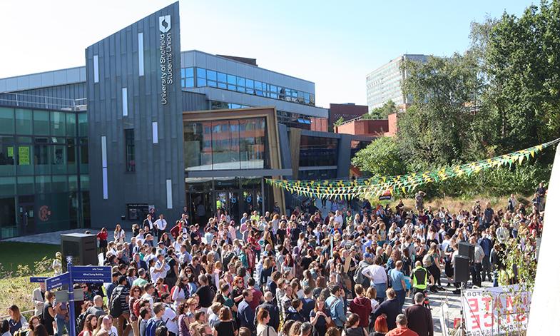 The University of Sheffield's Student Union.