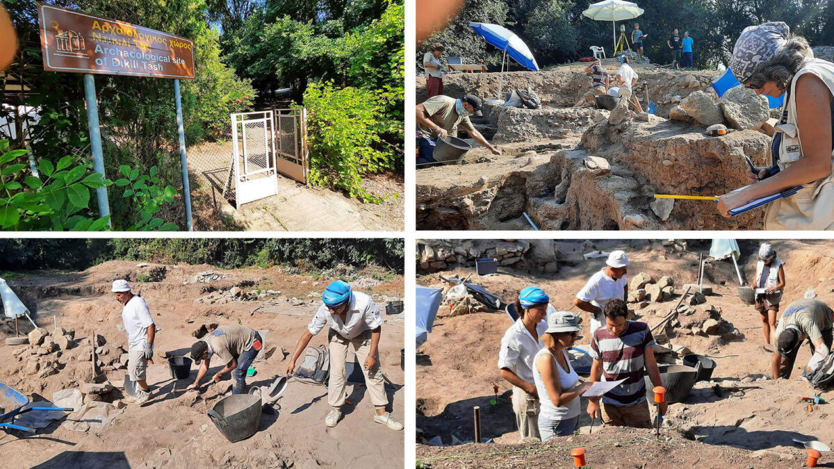 View of Excavation at Dikili Tas (photo: AMNA/Dikili Tas excavation team).