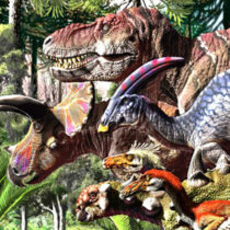 Dinosaurs were in decline before the end