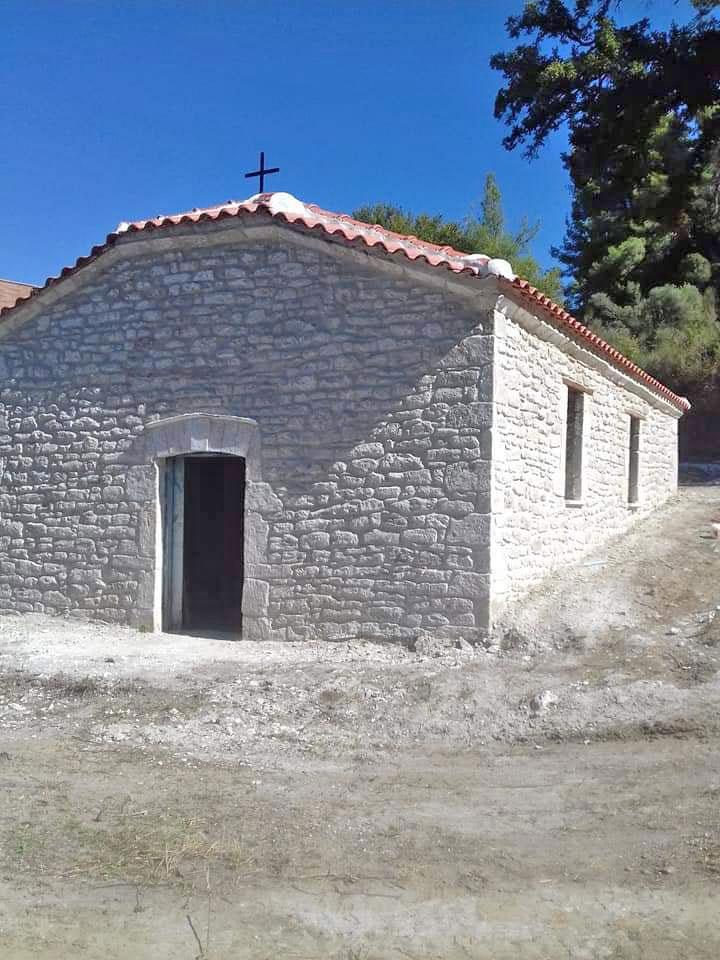 The chapel of Aghioi Theodoroi (photo: N.Karakostas)