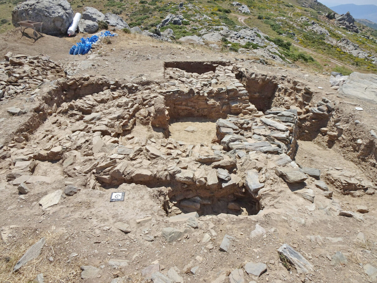 Gourimadi Site, overall view of the excavation (photo: MOCAS)