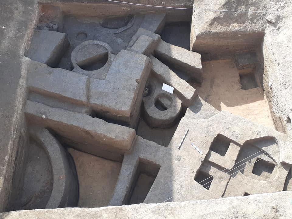 Tell Kom Aziza in Abu Hummus, Beheira, Egypt. Source: MoTA.