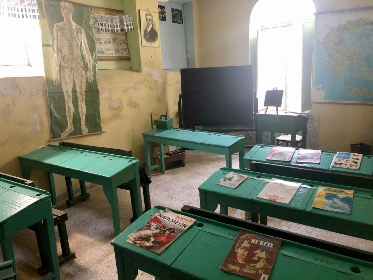 School room in the Ursulines Convent (photo: MOCAS)