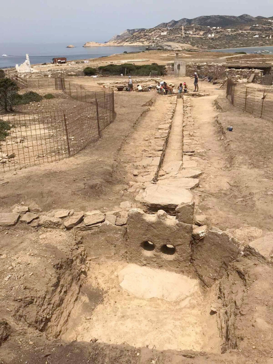 Views of the excavations at Despotikon (photo: MOCAS)