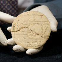 The world's oldest example of applied geometry