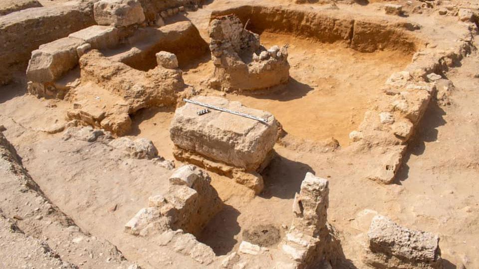 View of the Alexandria excavation (photo: AMNA)