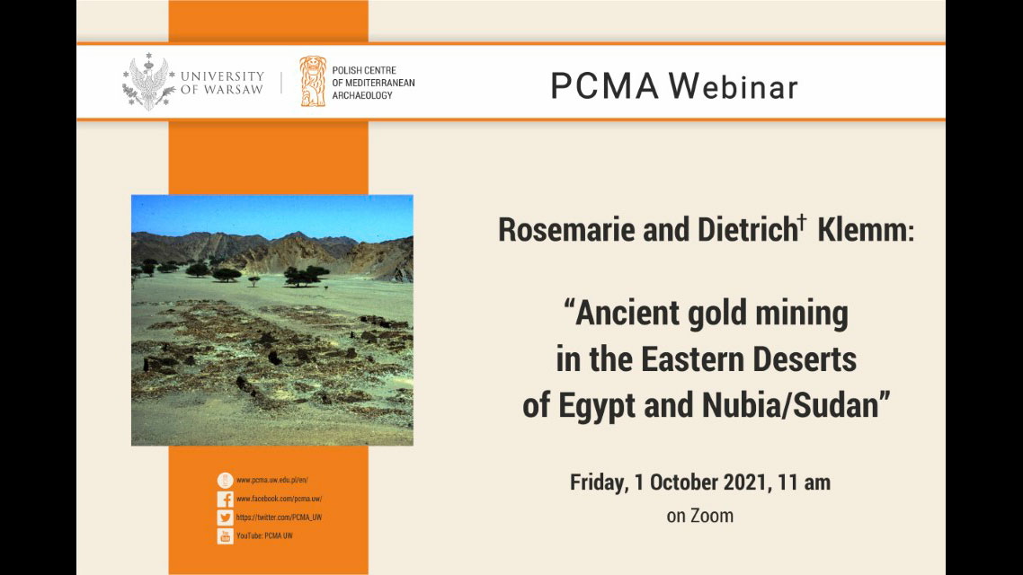 Ancient gold mining in the Eastern Deserts