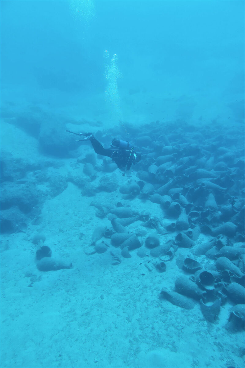 Underwater research completed in Palaikastro Bay