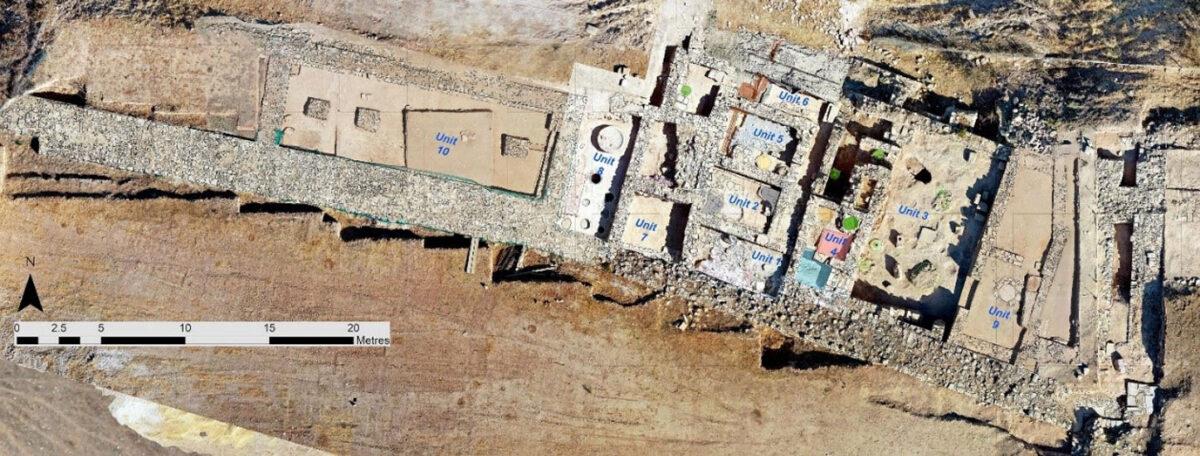 Hadjiabdulla Workshop Complex 2021– Unit Mosaic 1-10 (Athos Agapiou). Credit: Department of Antiquities, Cyprus