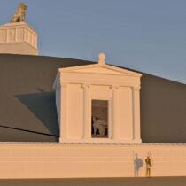 Αrchitectural studies for the Kasta Mound approved
