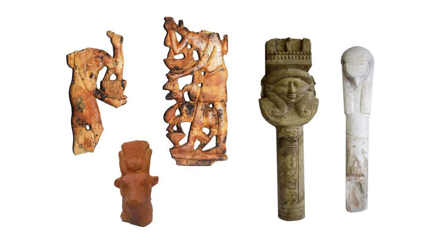Ritualistic tools. Image Credit : Ministry of Tourism and Antiquities