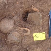 Prehistoric habitation layer unearthed at Ioannina
