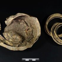 Archaeologists discover unique 3,000-year-old golden bowl with sun motif