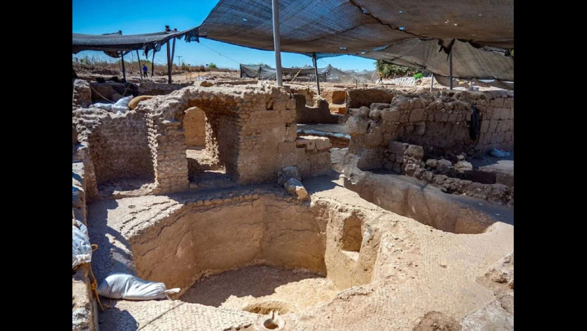 Each of the five wine presses covered about 2,400 square feet. Yaniv Berman / Israel Antiquities Authority